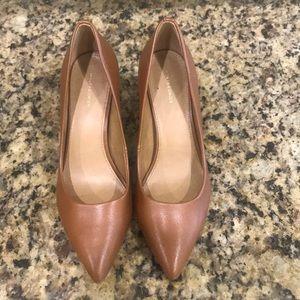 Camel colored heels
